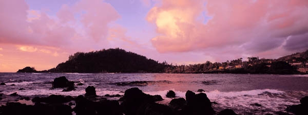 Sunrise over Hana Bay